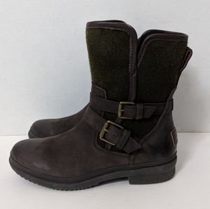 NWT UGG Simmens Waterproof Leather Wool Boots